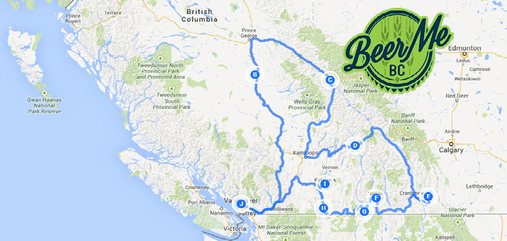 The Ultimate British Columbia Craft Beer Road Trip