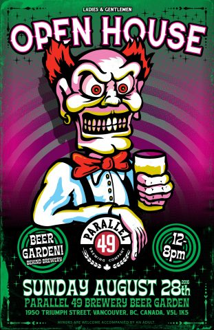Open House and Beer Garden @ Parallel 49 Brewing |  |  |