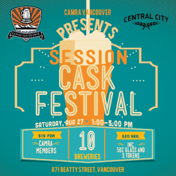 Session Cask Festival @ Central City on Beatty | Vancouver | British Columbia | Canada