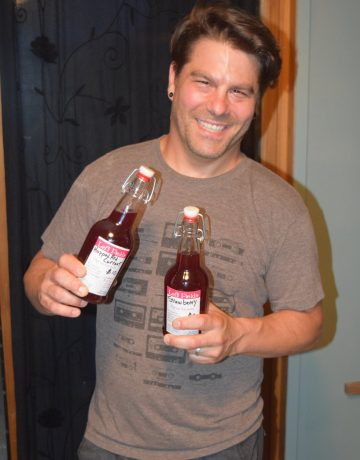 David Colombe, soda syrup creator