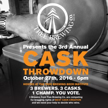 Cask Throwdown @ TREE BREWING BEER INSTITUTE | Kelowna | British Columbia | Canada