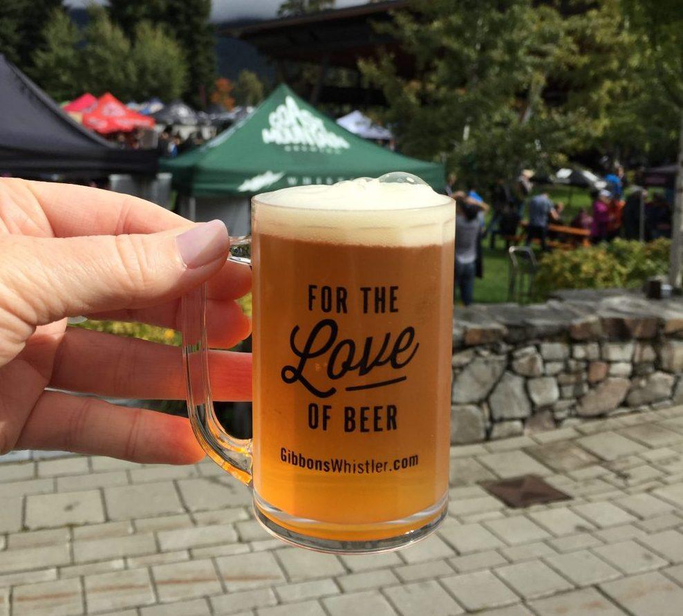 Whistler Village Beer Festival Shines Once Again Despite The Rain