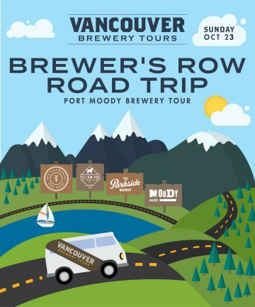 Vancouver Brewery Tours Road Trips to Brewer's Row in Port Moody @ Port Moody | Port Moody | British Columbia | Canada