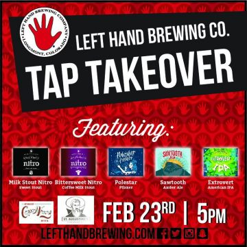 Left Hand Brewery BC Launch Party @ St. Augustines |  |  |