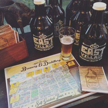 East Village Van Brewery and Distillery Passport