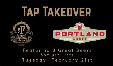 pFriem Family Brewers Tap Takeover @ Portland Craft |  |  |