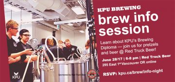 KPU Brewing Info Session at Red Truck Beer @ Red Truck Beer |  |  |