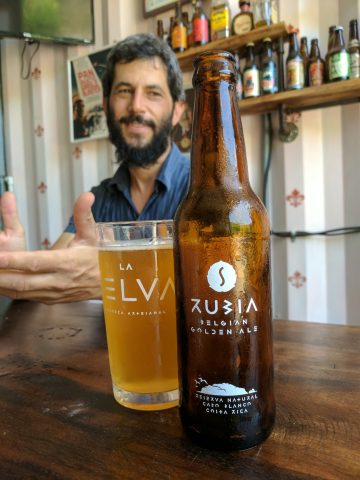 Re'em Jacob of La Selva Cerveza Artesanal