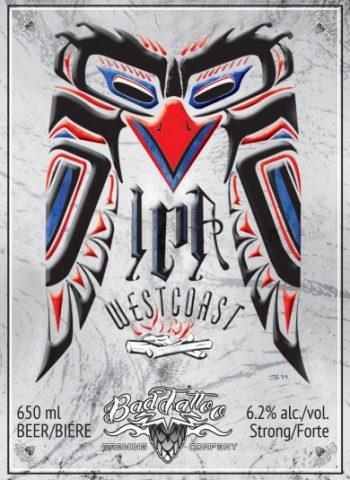 Westcoast IPA Label Image