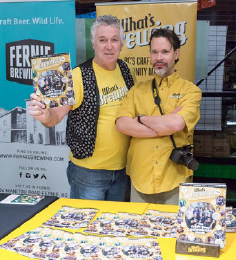 The WB Booth At Victoria Beer Week Image