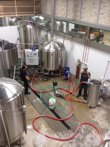Barkerville Brewing - Brewery Action Image