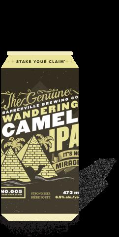 Barkerville Brewing - Wandering Camel Image