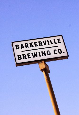 Barkerville Brewing - Street Sign Image
