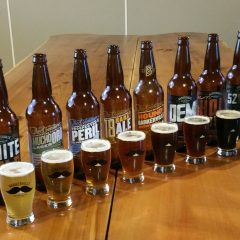 Barkerville Brewing - Row Of Beers Image