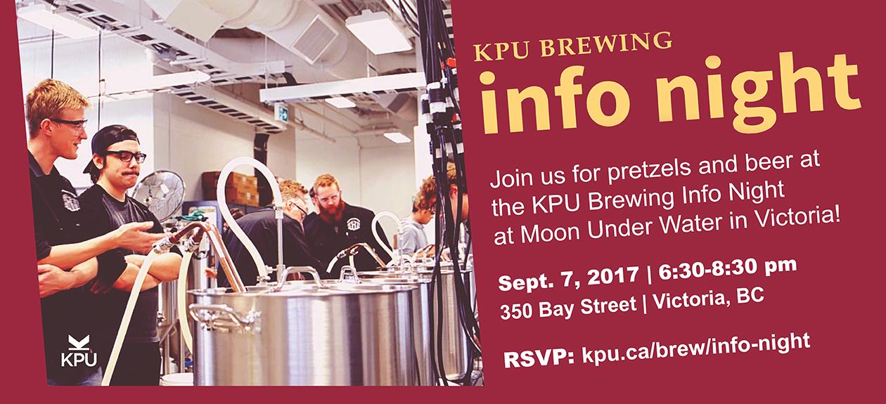 KPU Brewing Info Night