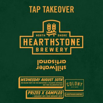 Hearthstone Stillwater Collabo Launch Taptakeover @ Colony Main Street @ Colony Main Street |  |  |