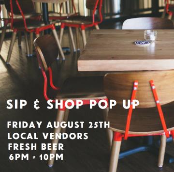 Sip & Shop - Community Pop Up @ Trading Post Brewing |  |  |