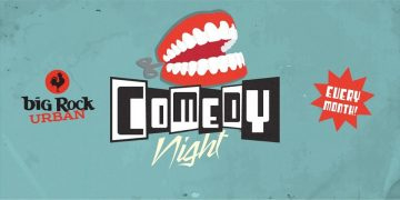 Comedy at Big Rock Feat. Chris Gordon @ Big Rock Urban Brewery & Eatery |  |  |