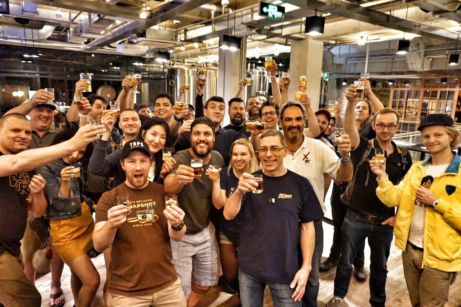 Cele-beer-ating Canada 150 In Shanghai