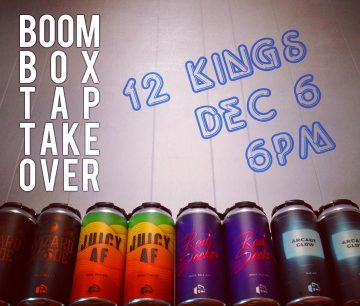 THE RETURN OF BOOMBOX WEDNESDAY @ 12 Kings Pub | Vancouver | British Columbia | Canada