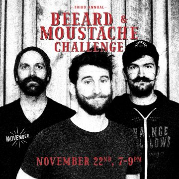 3rd Annual Beeard & Moustache Challenge @ Strange Fellows Brewing |  |  |