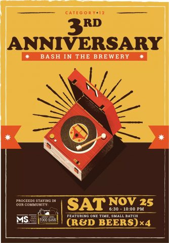 Category 12's Third Anniversary @ Category 12 Brewing Inc | Saanichton | British Columbia | Canada