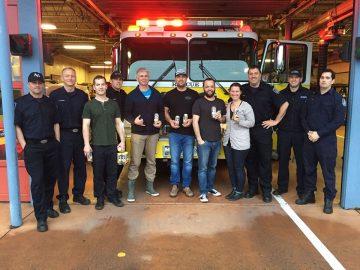 Spinnakers - Black Wednesday Anniversary: Firefighter Celebration! @ Spinnakers Brewpub | Victoria | British Columbia | Canada