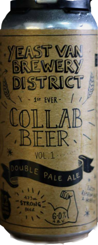 Yeast Van Brewery District Collab Beer
