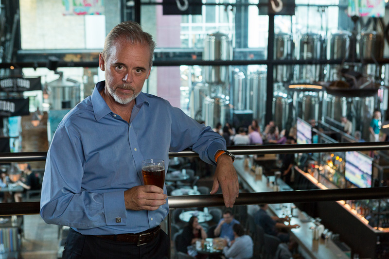 A Word With Steel Toad Brewing's COO Richard Goodine