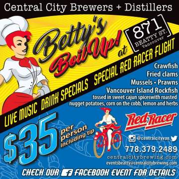 Bettys Boil Up on Beatty @ Central City Brewpub Beatty