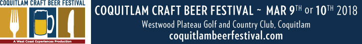 Coquitlam Beer Festival March 2018