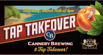 Cannery Brewing Tap Takeover at The Guild @ The Guild Victoria
