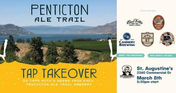 Penticton Ale Trail Tap Takeover at St. Augustine's @ St. Augustine's