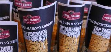 Howe Sound Brewing Co. Tap Takeover @ Howe Sound Brewing Co. |  |  |