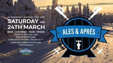 Ales & Apres 2018 @ Big White Ski Resort