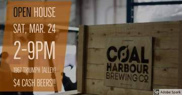 Coal Harbour Brewing Open House @ Coal Harbour Brewing Company