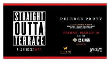 Straight Outta Terrace Launch Party @ 12 Kings Pub