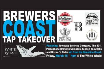Brewers Coast Tap Takeover