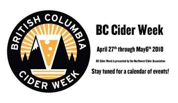 BC Cider Week 2018