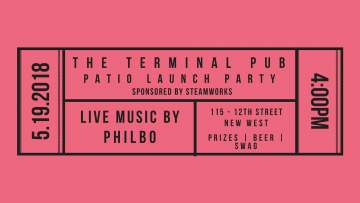 Patio Launch Party by Steamworks Summer Ale @ The Terminal Pub