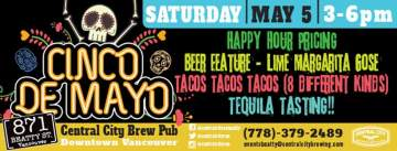 Cinco De Mayo at 871 @ Central City Brewpub Beatty