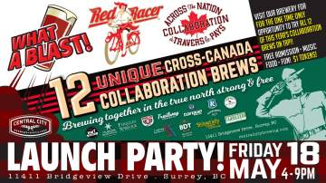 Across the Nation Launch Party - Free Admission! @ Red Racer Brew