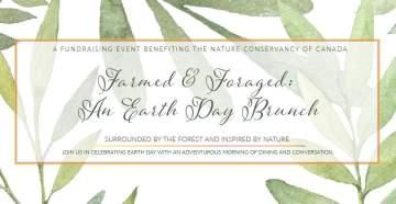 Farmed & Foraged: An Earth Day Brunch @ Sea Cider Farm & Ciderhouse |  |  |