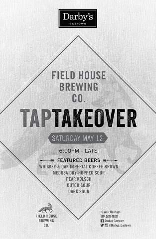 Field House Tap Takeover @ Darby's Gastown