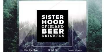 Sisterhood of Island Beer Drinkers @ The Cambie