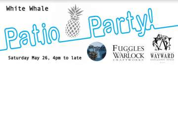 """The """"Official"""" Summer Patio Launch Party! @ The White Whale"""