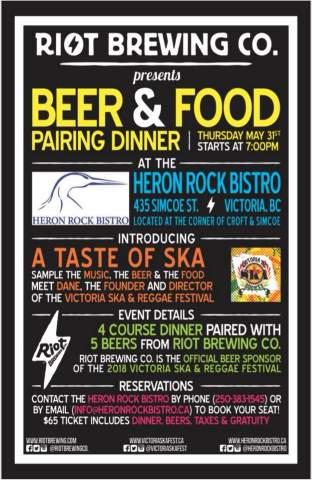 Heron Rock Beer Dinner @ Heron Rock Bistro