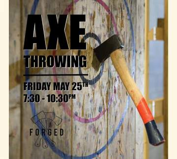 Forged Axe Throwing @ Strange Fellows Brewing