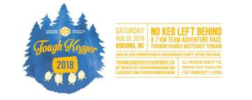Persephone Brewing Co. Presents Tough Kegger 2018! @ Gibsons | British Columbia | Canada