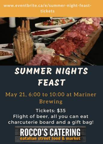 Summer Nights Feast ** CANCELLED ** @ Mariner Brewing Company | Coquitlam | British Columbia | Canada
